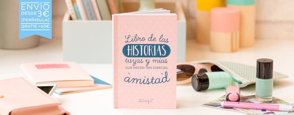 Libro amistad Mr.Wonderful
