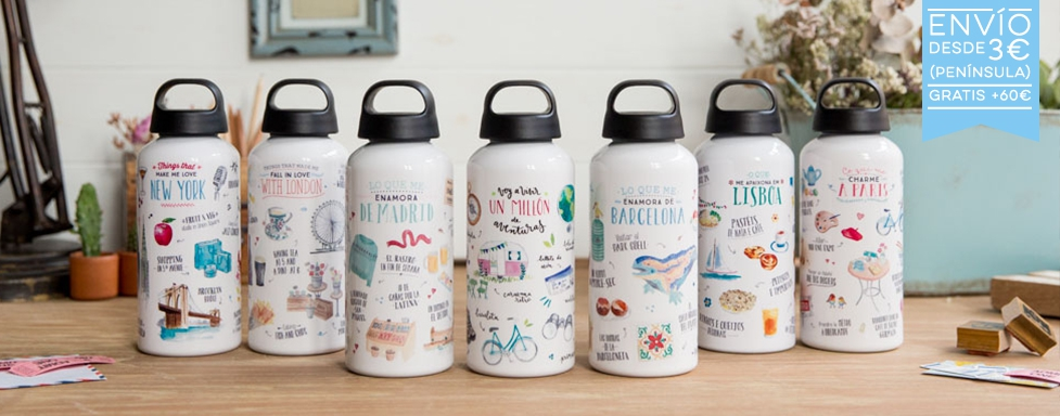 Botellas de Lovely Streets