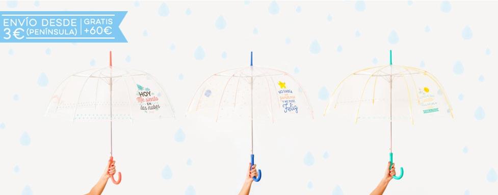 Paraguas largos