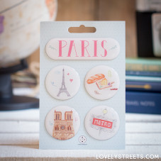 Imanes Lovely Street - París