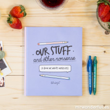 Kit libro + boli - Our stuff and other nonsense (ENG)