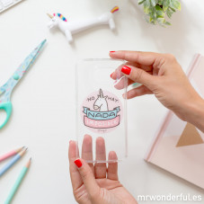 Carcasa transparente para Samsung S6 - Unicornio