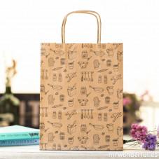 "Pack de 5 bolsas de papel de regalo ""Cocina"""
