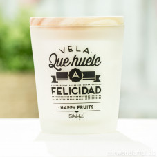 Vela que huele a felicidad - Happy Fruits