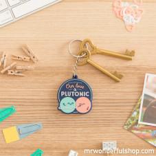 Portachiavi - Our love is Plutonic (ENG)