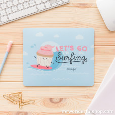 Tappetino per mouse - Let´s go surfing (ENG)