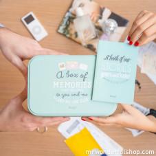 Kit - Cofanetto + quaderno dei nostri ricordi (ENG)