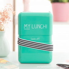 "Lunch box ""My lunch"" (ENG)"