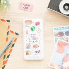 Lovely Streets case for iPhone 7 - A million adventures (ENG)
