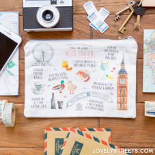 Lovely Streets Carryall - Things that made me fall in love with London (ENG)