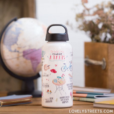 Aluminum bottle Lovely Streets - Paris