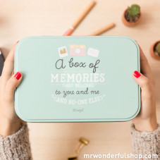 Metallic box of memories that belong to you and me (ENG)
