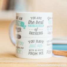 "Mug ""You are an amazing father"" (ENG)"