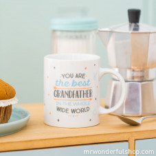 Mug - You are the best grandfather in the whole wide world (ENG)
