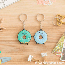Set of 2 key-rings - We are doughnuts about each other! (ENG)