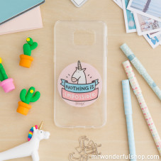 Samsung S7 Edge case - Unicorn (ENG)