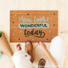 Doormat - You look wonderful today (ENG)