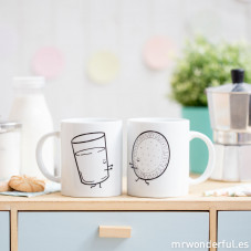 """Pack of 2 mugs """"Better together"""""""