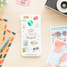 Coque Lovely Streets pour Iphone 6/6S - A million adventures (ENG)