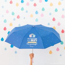 Parapluie moyen - Les parapluies et le wifi sont faits pour être partagés (FR)