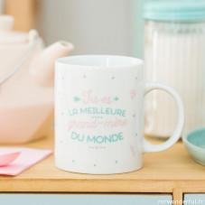 Mug - Tu es la meilleure grand-mère du monde (FR)