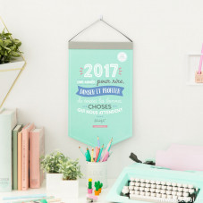 Calendrier mural 2017 - Une année pour rire, danser et profiter (FR)