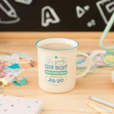 Mug - Le prof qui boit dans cette tasse mérite un 20/20 (FR)