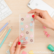 Coque pour iPhone 7 - Mini donuts