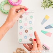 Coque pour iPhone 7 Plus - Mini donuts