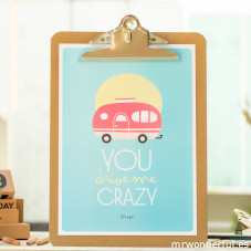 Affiche summer en relief – You drive me crazy