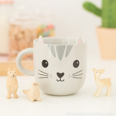 Tasse Chat Kawaii