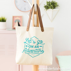 Tote bag - Let's go on an adventure