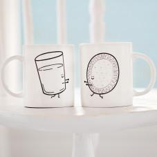 Set de 2 mugs - Ensemble c'est mieux (FR)