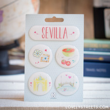 Ímanes Lovely Streets - Sevilla