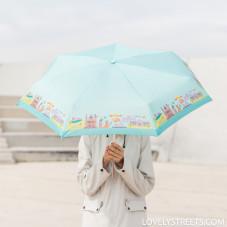 Guarda-chuva pequeno Lovely Streets - Madrid