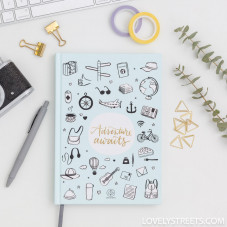 Caderno Lovely Streets - Sketch the world adventure awaits