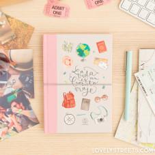 Caderno Lovely Streets - La vida es un bonito viaje