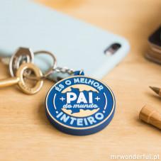Porta-chaves borracha - Para pais fantásticos (PT)