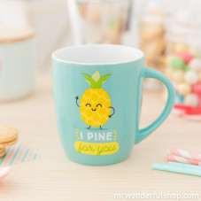 "Caneca ""I pine for you"" (ENG)"