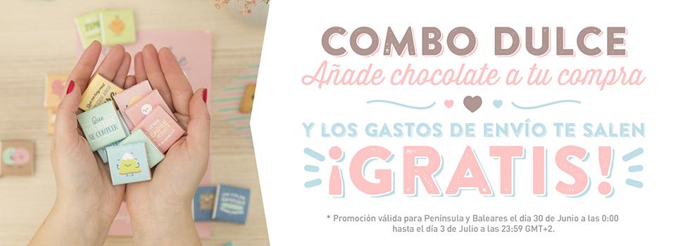 Promoción chocolates