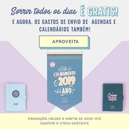 Promoção Agenda e Calendário 2019