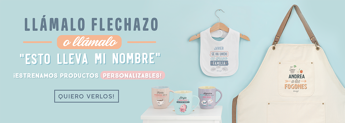 Productos personalizables