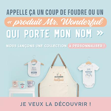 Produits personnalisés Mr. Wonderful