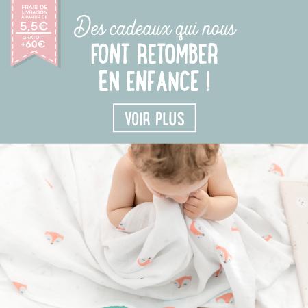 Découvrez la collection bébé sur notre e-shop !