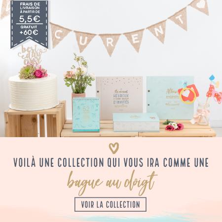 Découvrez notre collection mariage sur notre e-shop !