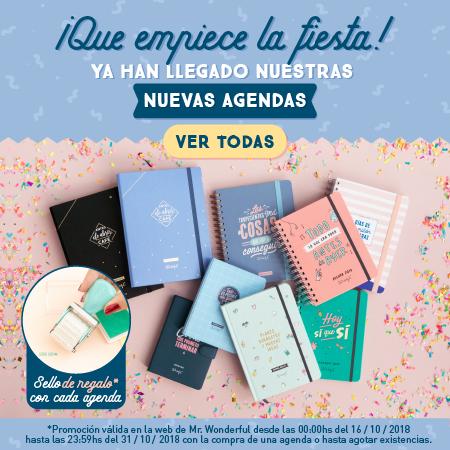 Agenda anual 2019 Mr. Wonderful