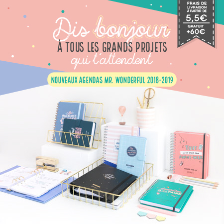 Les nouveaux agendas scolaires 2018-2019 sont en vente sur l'e-shop !