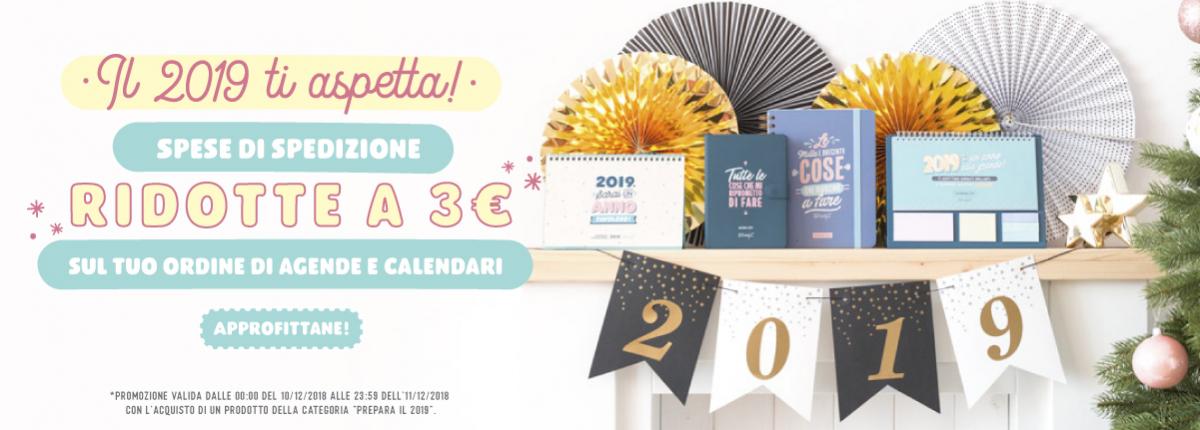 Offerta Agenda e Calendari 2019