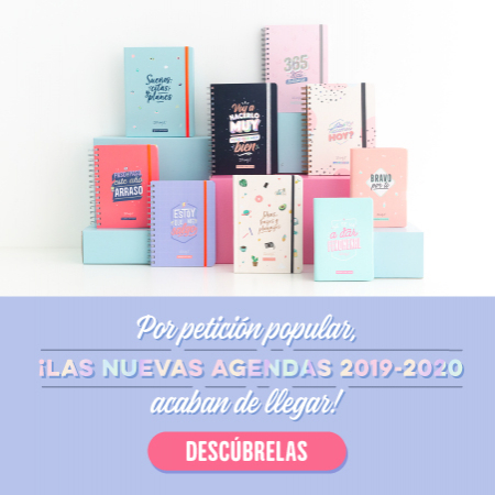 Agenda escolar 2019-2020 Mr. Wonderful