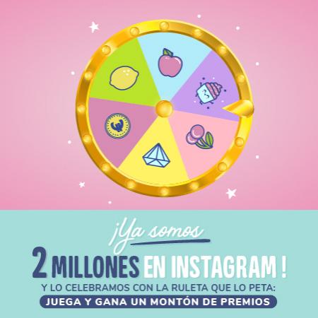 Ya somos 2 millones en Instagram